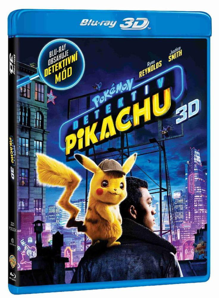 Pokémon: Detektiv Pikachu - Blu-ray 3D + Blu-ray (2BD)