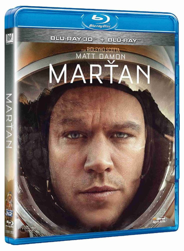 MARŤAN - Blu-ray 3D + 2D