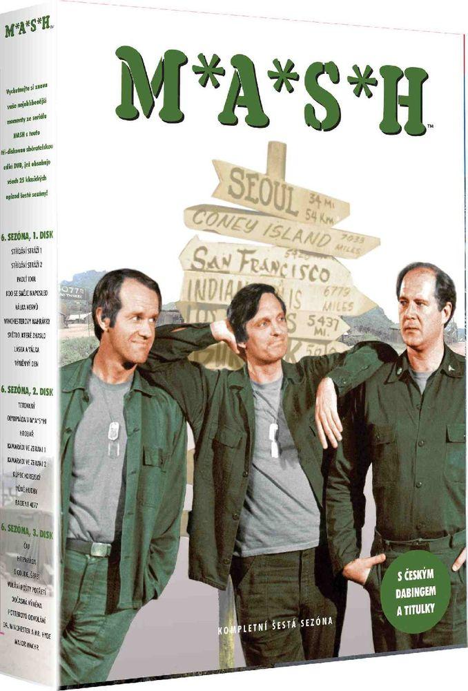 MASH (M.A.S.H.) - 6. SEZÓNA - DVD