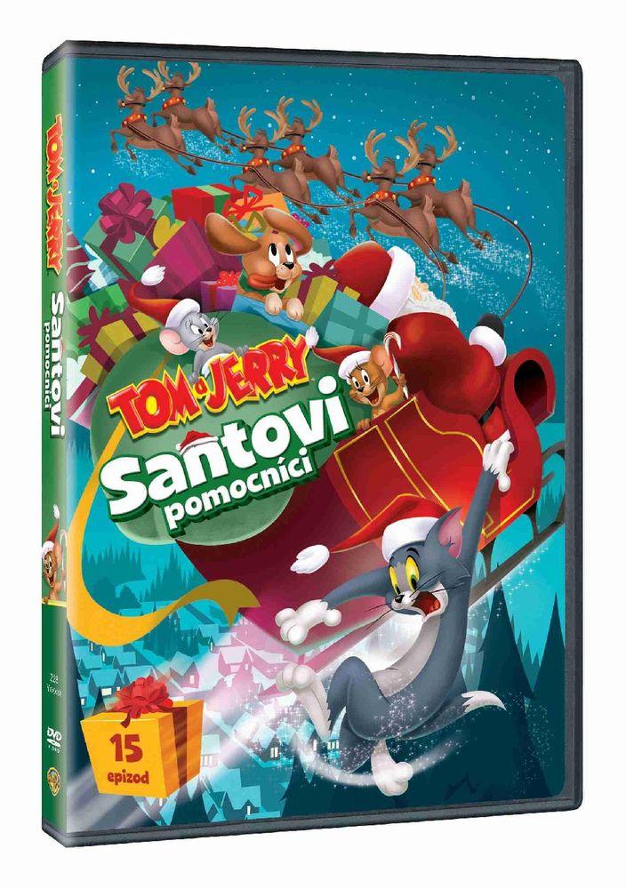 TOM A JERRY: SANTOVI POMOCNÍCI - DVD