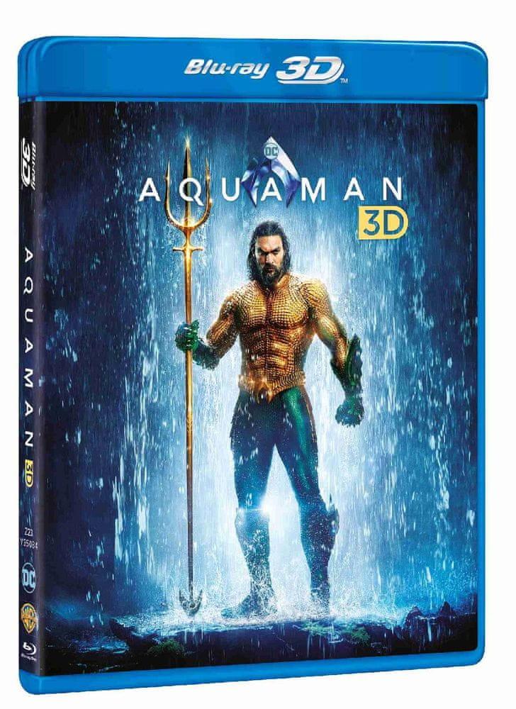 Aquaman - Blu-ray 3D + 2D (2BD)