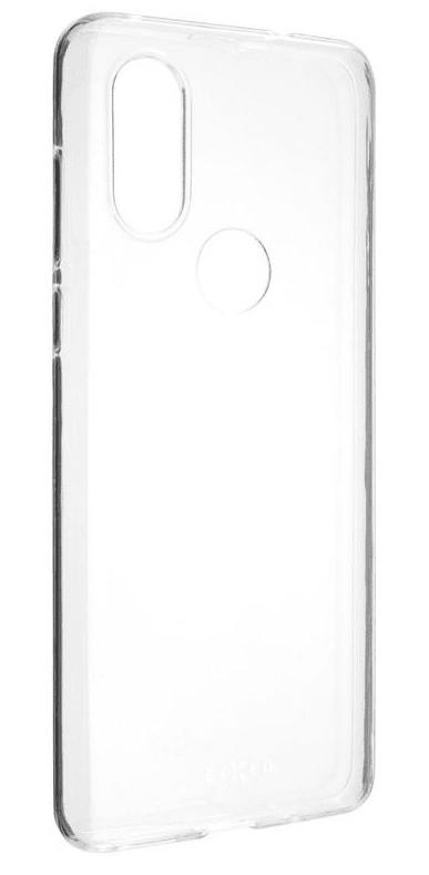 Fixed Ultratenké TPU gelové pouzdro Skin pro Motorola One Vision, 0,6 mm, čiré, FIXTCS-442
