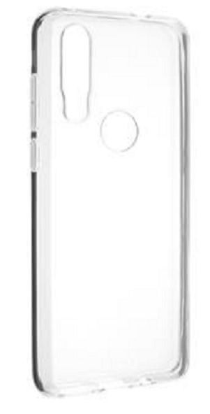 FIXED TPU gelové pouzdro pro Motorola One Action, čiré, FIXTCC-454