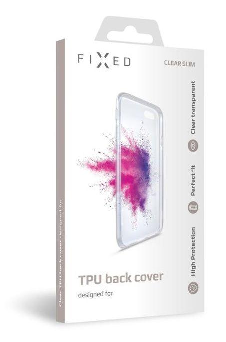 FIXED TPU gelové pouzdro pro Xiaomi Redmi Note 8 Pro FIXTCC-463, čiré