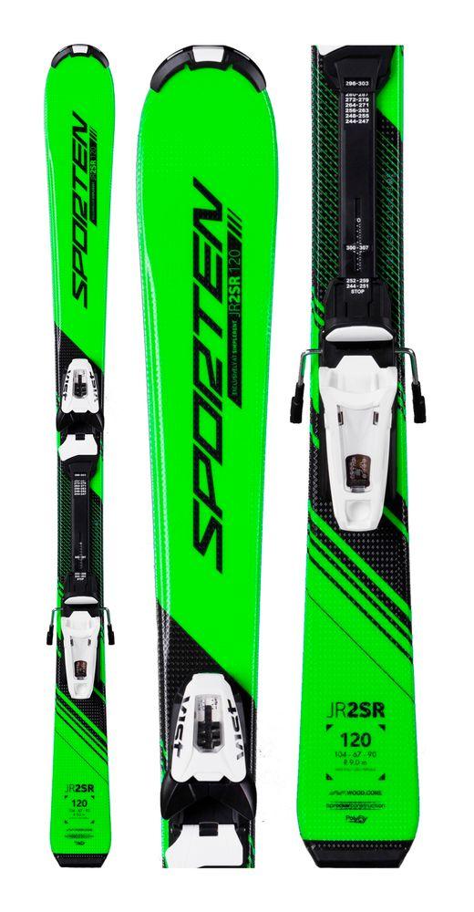 Sporten JR2SR dětské lyže 120 cm + Vist JR45