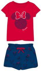 Disney dievčenská súprava MINNIE 128 červená