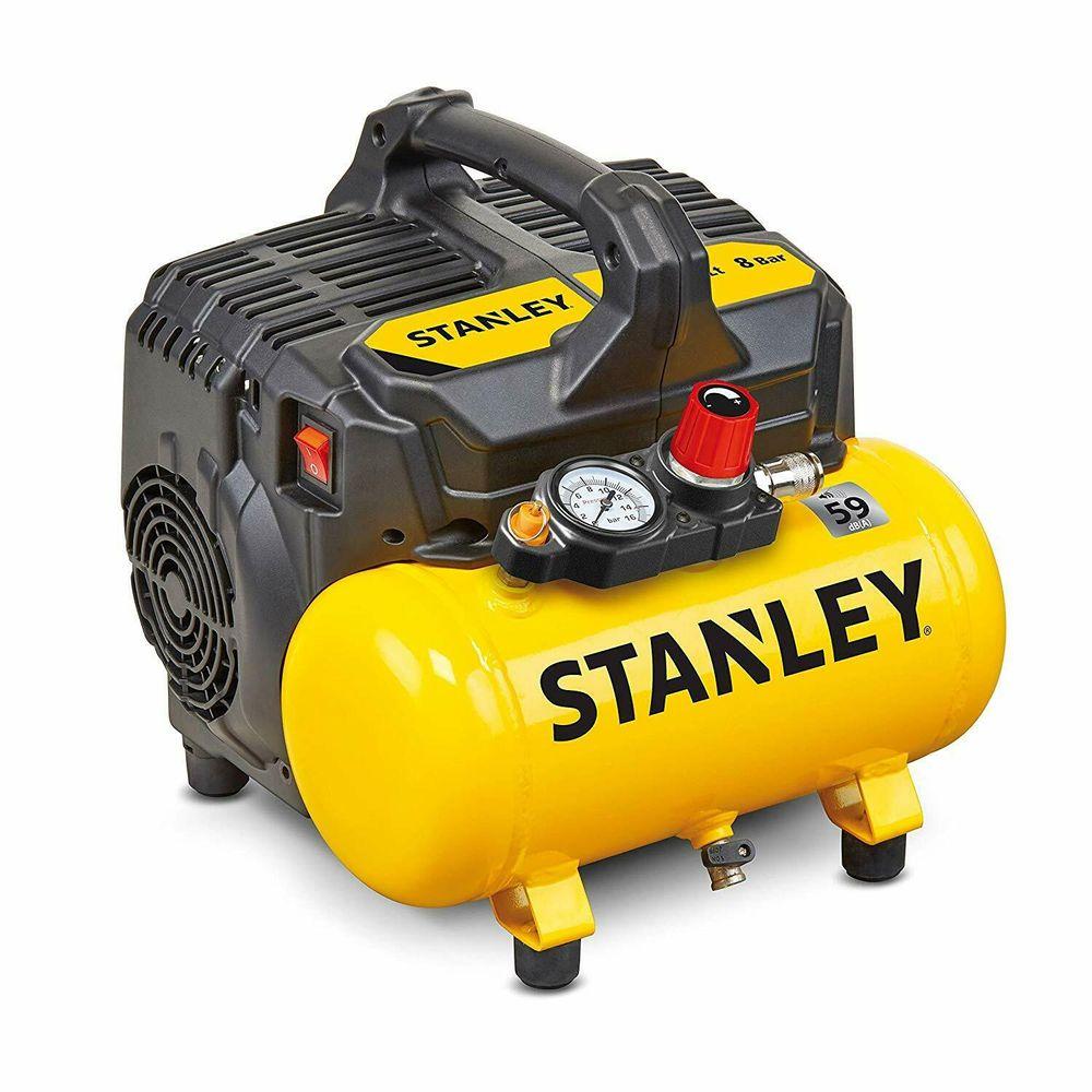 Stanley Kompresor bezolejový DST 100/8/6