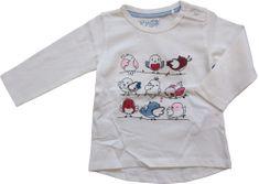 Carodel dívčí tričko 62 bílá