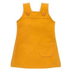 PINOKIO dievčenské šaty NICE DAY 62 žlté