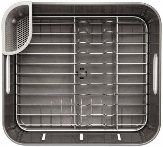 Simplehuman Odkapávač na nádobí Compact, šedý plast