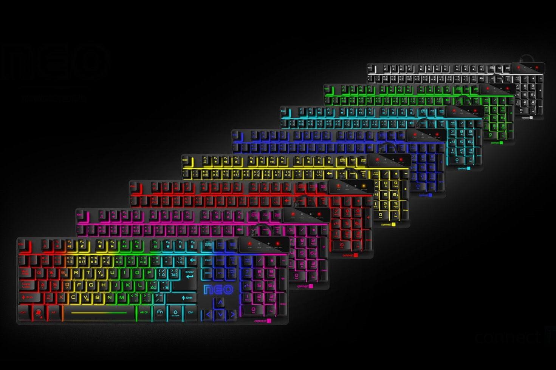 connect it neo cz/sk rainbow led 9 nastaviteľných módov rainbow voice command