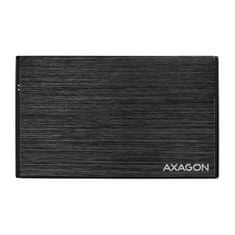 AXAGON EE25-XA6 zunanje ohišje za HDD/SDD disk, črno