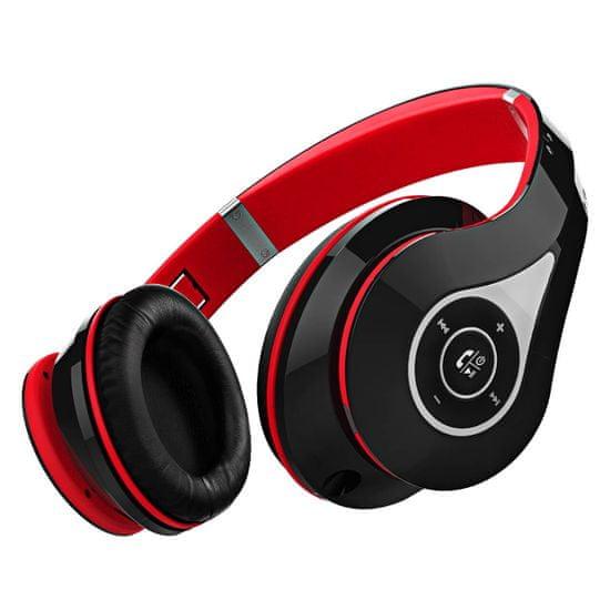 MPOW 059 - bezdrôtové slúchadlá, červeno-čierna