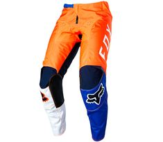 Fox kalhoty 180 Lovl orange/blue, vel. 28