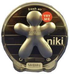 Mr&Mrs Fragrance Niki Fresh Air vůně do auta - rozbaleno