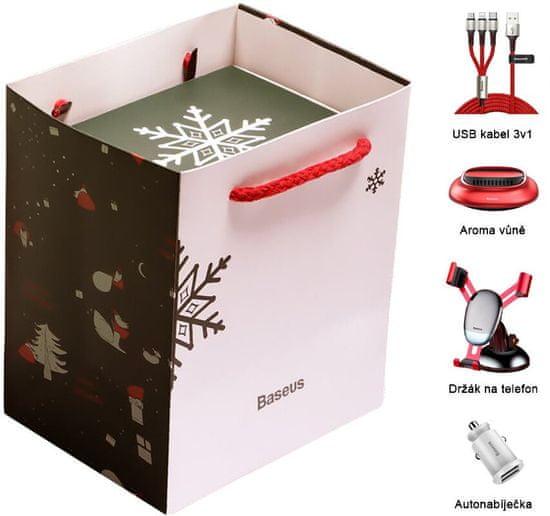 BASEUS Vánoční dárkový balíček příslušenství do auta TZNEW19-A