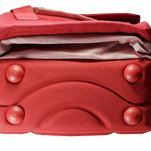 Benetton Plecak szkolny , na czerwonych klamrach