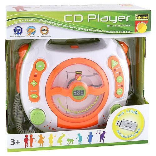 Idena CD lejátszó, mikrofonnal és USB bemenettel