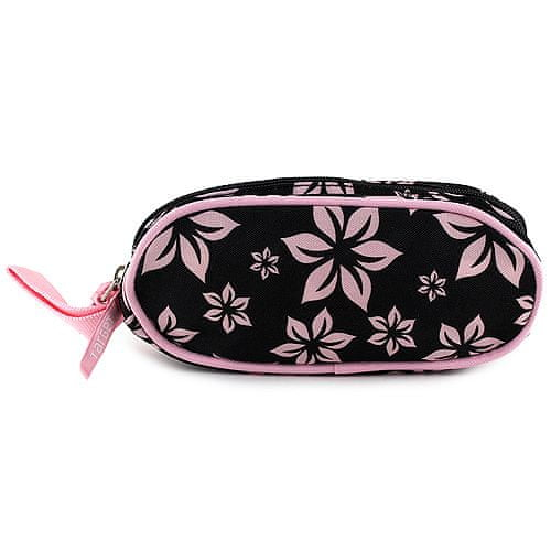 Target Ciljna šalica s svinčnikom, roza, cvetni motiv