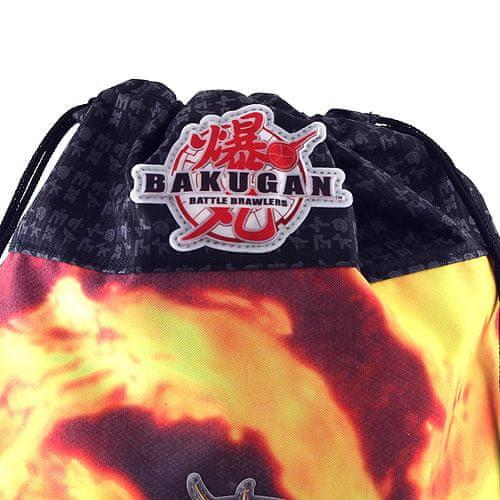 Bakugan Sportovní vak , černo-oranžový