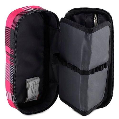 Target Docelowy piórnik szkolny, różowo-czarny