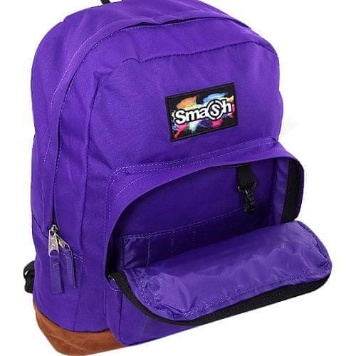 Smash Študentský plecniak , fialový