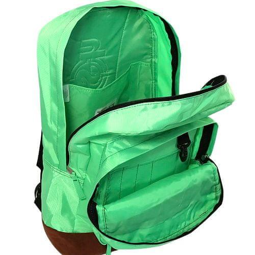 Smash Razbiti študentski nahrbtnik, neonsko zelena
