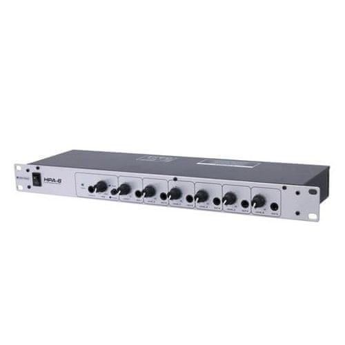 Omnitronic wzmacniacz słuchawkowy, HPA-6