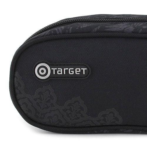 Target Ciljna šalica s svinčnikom, eliptična črna