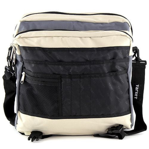 Target Ciljna torba za prenosnik, bež-siva