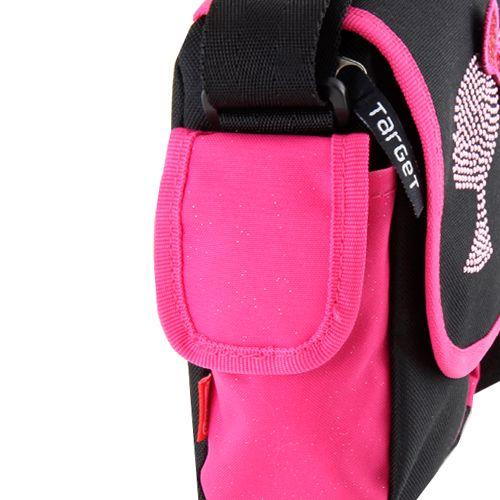 Barbie Torba na ramię , różowo-czarny z motywem lalki