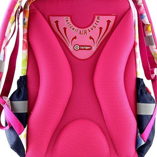 Strawberry Eper Shortcake iskolai hátizsák, három kislány motívuma
