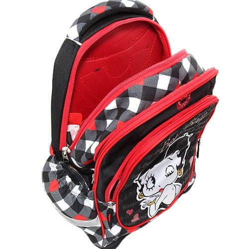 Betty Boop Cél iskolai hátizsák, , fekete színű