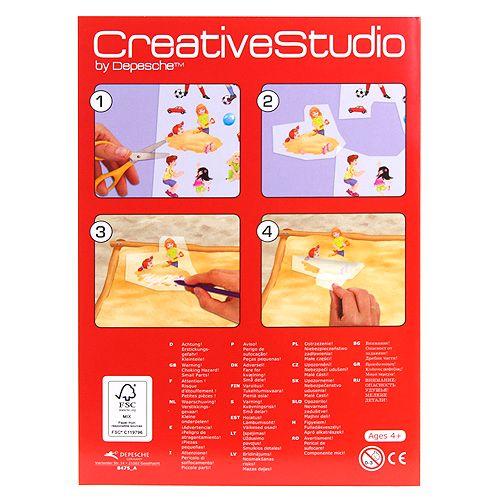 Create Your Maľovanky, kreatívna sada ASST, Detské ihrisko