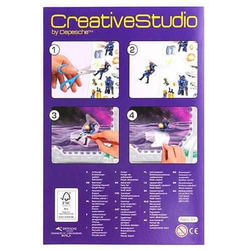 Create Your Maľovanky, kreatívna sada ASST, Vesmír