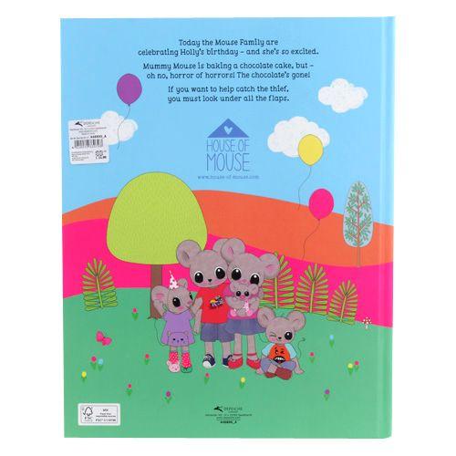 House of Mouse Obrázková kniha , Ztracená čokoláda, s flitry, AJ