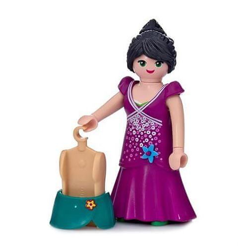 Playmobil Dziewczyna w sukience imprezowej , Pokaz mody, 8 sztuk