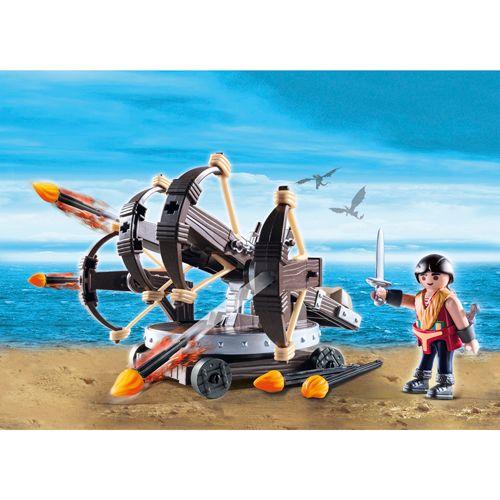 Playmobil Eret tűz számszeríjjal, Hogyan képzeljünk el egy sárkányt, 55 darab