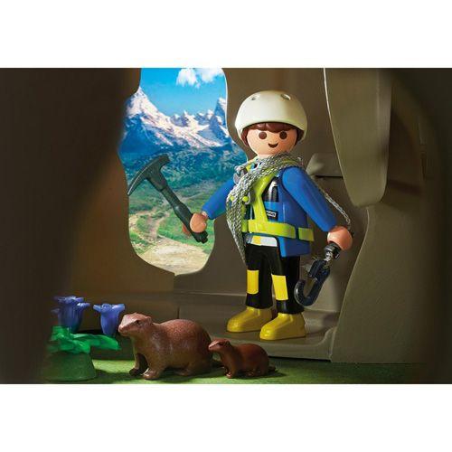 Playmobil Rock s planinsko kočo , Reševalci, 80 kosov