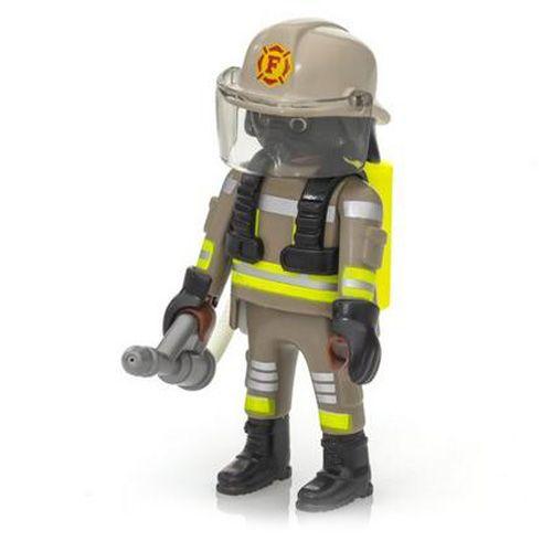 Playmobil Hasič s plynovou maskou , Hasiči, 9 dielikov