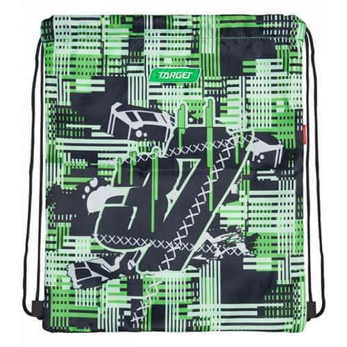 Target Docelowa torba sportowa, 37, czarno-zielony