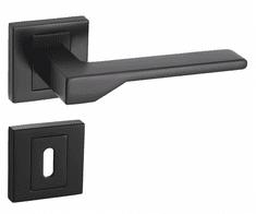 Infinity Line Nove KNV B00 czarny - okucia do drzwi - pod klucz pokojowy
