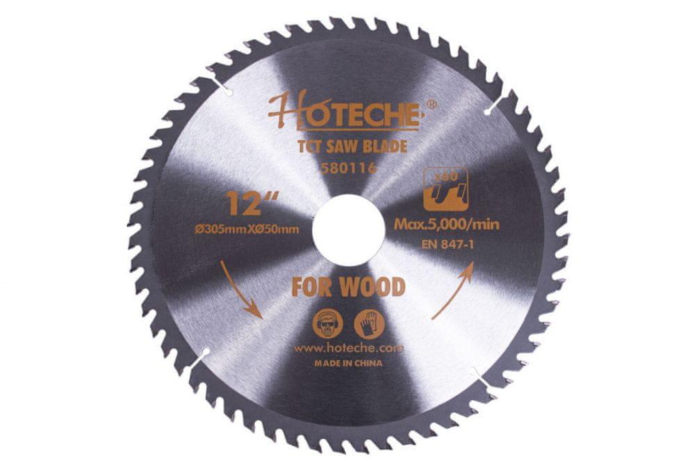Hoteche Pilový kotouč na dřevo 305 mm, 60 zubů - HT580116 | Hoteche