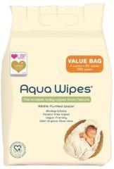 Aqua Wipes Vlhčené ubrousky - 4x64 ks
