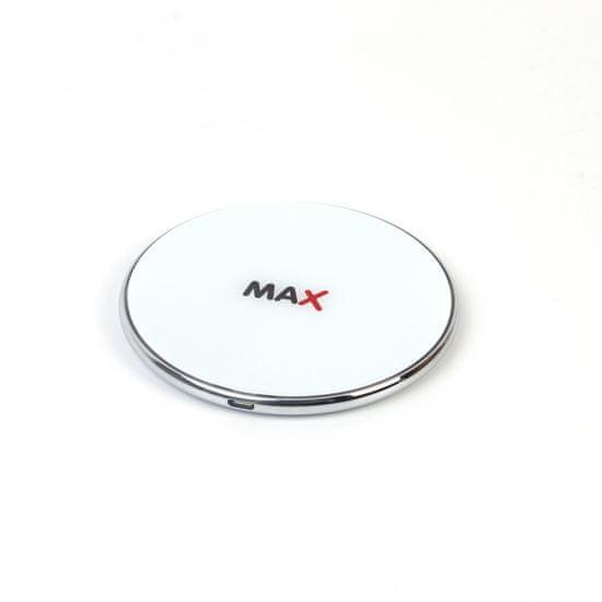 MAX bežični punjač 7.5 W/10 W/15 W, bijeli