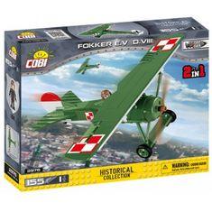 Cobi 2976 Great War Fokker E.V (D. VIII), 155 k, 1 f