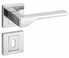 Infinity Line Nove KNV 700 chrom - klika ke dveřím - pro pokojový klíč