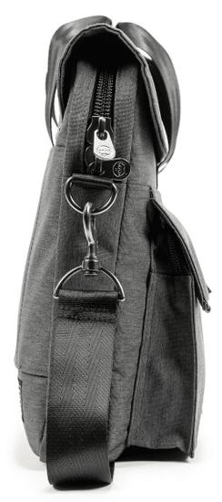 PKG Richmond Laptop Backpack torba za prenosnik, 38,1 cm/40,6 cm, temno siva (PKG-RICH-GY01TN)