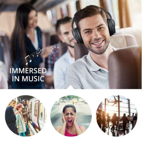 Platinet Freestyle FH0925 naglavne Bluetooth 5.0 slušalke, Active Noise Cancelling