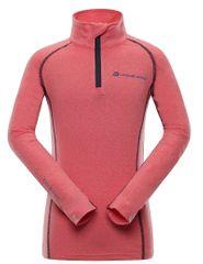 ALPINE PRO dekliška funkcijska majica Neveo 4, 128 - 134, roza